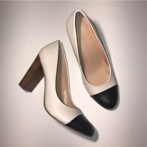Banana republic color block heels